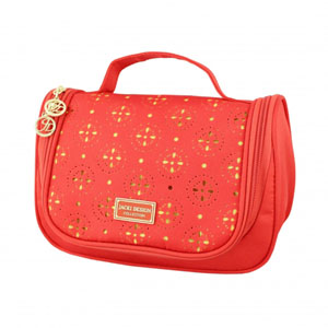 Sassy and Bright Travel Bag with Hanger Coral