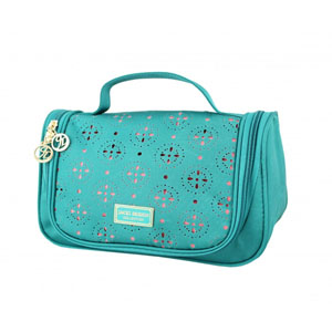 Sassy and Bright Travel Bag with Hanger Emerald