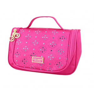 Sassy and Bright Travel Bag with Hanger Hot Pink