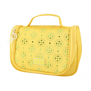 Sassy and Bright Travel Bag with Hanger Yellow