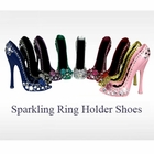 Sparkling Ring Holder Shoes Set of 9