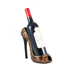 Trendy Camouflage Shoe Wine Bottle Holder