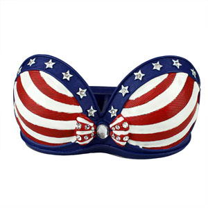 US Flag Collection Bra Ring Holder