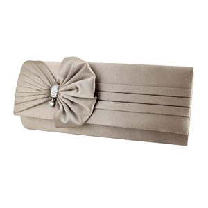 Vintage Bow Evening Purse Collection Beige