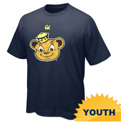 Cal Oski Youth Short Sleeve Tee - Navy