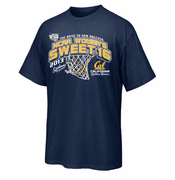 California Golden Bears 2013 NCAA Women's Sweet 16 Basketball Tee - Navy