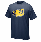 California Golden Bears 2014 Beat Stanford Short Sleeve Tee - Navy