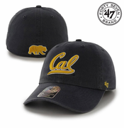 California Golden Bears '47 Brand Cursive Logo Franchise Hat - Navy