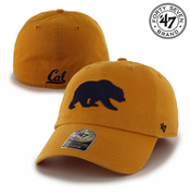 California Golden Bears '47 Brand Walking Bear Franchise Hat - Gold
