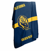 California Golden Bears 50x60 Fleece Stadium Blanket - Navy
