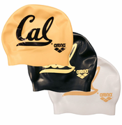 California Golden Bears ARENA Silicone Swim Cap