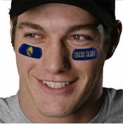 California Golden Bears Bear Raid Eye Black Strips 4-pack - Navy