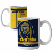 California Golden Bears Boelter Bear and 'C' Logo Ceramic Coffe Mug