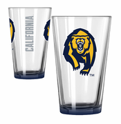 California Golden Bears Boelter Elite Bear Logo Pint Glass
