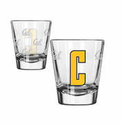 California Golden Bears Boelter Satin Etch 'C' Logo 2oz Shot Glass
