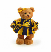 California Golden Bears Cheerleader Bear