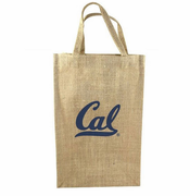 California Golden Bears Classic Artisan 2-Bottle Tote Bag