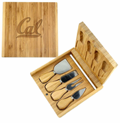California Golden Bears Classic Artisan Bamboo Knife Set