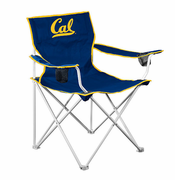 California Golden Bears Deluxe Folding Canvas Chair - Navy