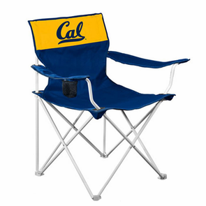 California Golden Bears Folding Canvas Chair - Navy - Click to enlarge