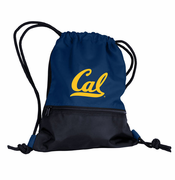 California Golden Bears Logo Cinch String Backpack - Navy/Black