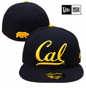 California Golden Bears New Era 59FIFTY&reg Cal Cursive Logo Fitted Hat - Navy