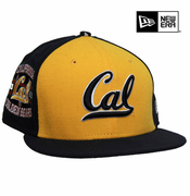 <b><i>All Sales Final</i></b> - California Golden Bears New Era 59FIFTY&reg Customizer Fitted Hat - Gold/Navy