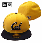 <b><i>All Sales Final</i></b> - California Golden Bears New Era 59FIFTY&reg Patched Team Redux Fitted Cap - Gold