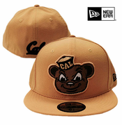 <b><i>All Sales Final</i></b> - California Golden Bears New Era 59FIFTY&reg Retro Oski Mascot Flat Brim Fitted Hat - Gold
