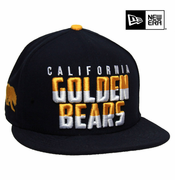 California Golden Bears New Era 9FIFTY&reg Dividing Line Snapback Cap - Navy