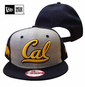 California Golden Bears New Era 9FIFTY&reg Heather Front Snapback Cap - Grey/Navy