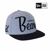 California Golden Bears New Era 9FIFTY&reg Retro Scholar Snapback Cap - Grey/Navy