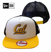 California Golden Bears New Era 9FIFTY&reg Team Mesh Snapback Cap - White/Navy