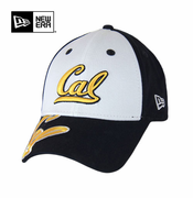 California Golden Bears New Era 9FORTY&reg Orlantic Cap - White/Navy