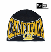 California Golden Bears New Era Big Name Knit Beanie - Navy
