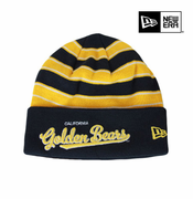 California Golden Bears New Era Cuffed Bandwidth Knit Beanie - Navy/Gold