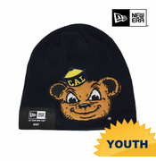 California Golden Bears New Era Youth Mascot Knit Beanie - Navy