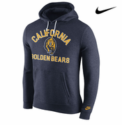 California Golden Bears Nike Club Rewind Hoody - Navy