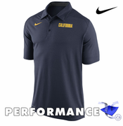 California Golden Bears Nike Dri-FIT College Game Time Polo - Navy