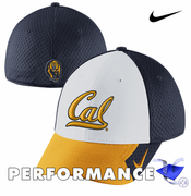 California Golden Bears Nike Dri-FIT Conference Legacy 91 Swoosh Flex Cap - White