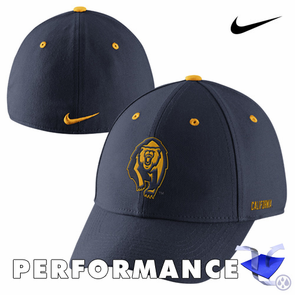 California Golden Bears Nike Dri-FIT Fan Legacy 91 Swoosh Flex Cap - Navy - Click to enlarge