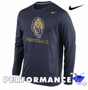 California Golden Bears Nike Dri-FIT Football Legend Long Sleeve Practice Tee - Navy