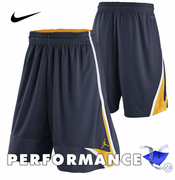 California Golden Bears Nike Dri-FIT Jordan Basketball Pre-Game Short - Navy