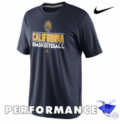 California Golden Bears Nike Dri-FIT Jordan Basketball Team Issue Practice Tee - Navy