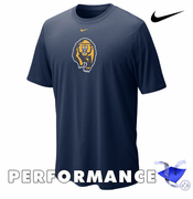 California Golden Bears Nike Dri-FIT Logo Legend Short Sleeve Tee - Navy