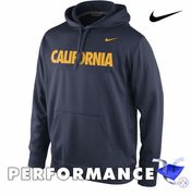 California Golden Bears Nike Dri-FIT Performance Pullover Hoody - Navy