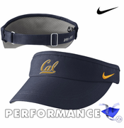 California Golden Bears Nike Dri-FIT&reg Sideline Visor - Navy