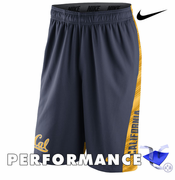 California Golden Bears Nike Dri-FIT Speed Fly XL 2.0 Shorts - Navy