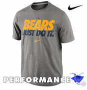 California Golden Bears Nike Dri-FIT Speed JDI Legend Tee - Grey