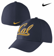 California Golden Bears Nike Dri-FIT Swoosh Flex Hat - Navy